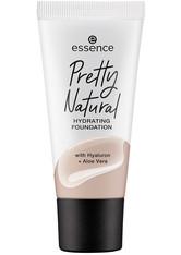 essence Pretty Natural Hydrating Flüssige Foundation 30 ml NR. 50 - NEUTRAL CHAMPAGNE