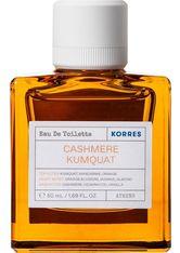 Korres Cashmere Kumquat Eau de Toilette (EdT) 50 ml Parfüm