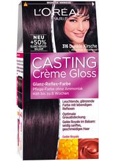 L'Oréal Paris Casting Crème Gloss Glanz-Reflex-Intensivtönung 316 Dunkle Kirsche Coloration 1 Stk.