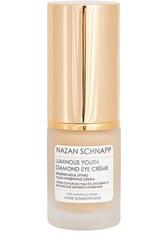 NAZAN SCHNAPP - Nazan Schnapp Pflege Luminous Youth Diamond Eye Crème Augencreme 15.0 ml - Augencreme