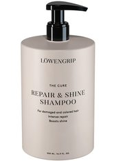 Löwengrip Shampoo & Conditioner The Cure - Repair & Shine Shampoo Haarshampoo 500.0 ml