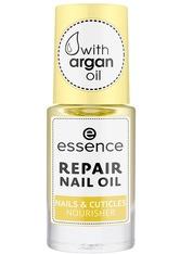 essence Repair Nails & Cuticles Nourisher Nagelöl 8 ml Transparent