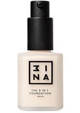 3INA 3-in-1 Foundation 30ml (verschiedene Farbtöne) - 208