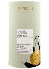 Farfalla Produkte Aroma-Yoga Sonnengruß - Geschenkset Körperöl & Raumspray Yogazubehör 1.0 pieces
