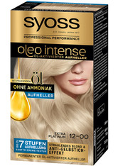 Syoss Oleo Intense Permanente Öl-Coloration Extra Platinum Haarfarbe 133 ml