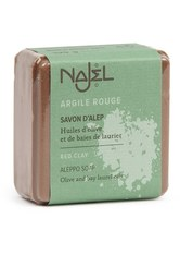 Najel Produkte Aleppo-Seife - rote Tonerde 100g Stückseife 100.0 g