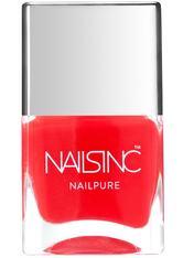 NAILS INC. - NAILSINC Nailpure Nail Polish 14ml Mayfair Gardens - NAGELLACK