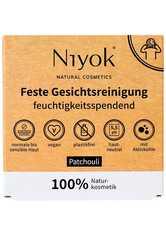 Niyok Produkte Feste Gesichtsreinigung - Patchouli 80g Seife 80.0 g
