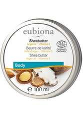 Eubiona Produkte Sheabutter - Arganöl & Vitamin E 100ml Körperbutter 100.0 ml