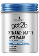 got2b Haarstyling Strand Matte Matt-Paste Für Surfer Looks Haarcreme 100.0 ml