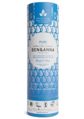 BEN & ANNA - Ben & Anna Produkte Ben & Anna Produkte Pure - Deo papertube 60g Deodorant Stift 60.0 g - Roll-On Deo