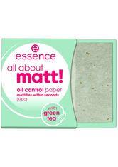 essence all about matt! oil control paper Blotting Paper 50 Stk No_Color