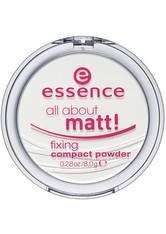 ESSENCE - essence - Puder - all about matt! fixing compact powder - GESICHTSPUDER