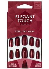 Elegant Touch Artificial Nails Colour Nails -  Steel The Night Kunstnägel 1.0 pieces
