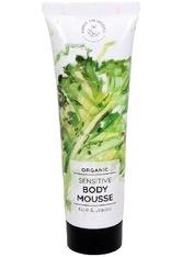 HANDS ON VEGGIES - Hands On Veggies Sensitive Body Mousse Kale & Jojoba 150 ml - KÖRPERCREME & ÖLE