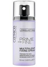 Catrice Grundierung / Primer Prime And Fine Multitalent Fixing Spray Gesichtsspray 50.0 ml
