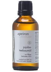 APEIRON - Apeiron Produkte Jojoba-Teebaumöl 50ml Körperöl 50.0 ml - KÖRPERCREME & ÖLE