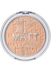 Catrice Teint Puder All Matt Plus Shine Control Powder Nr. 025 Sand Beige 10 g