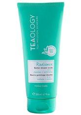 Teaology Körperpflege Yoga Care Radiance Butter Shower Scrub Körperpflege 200.0 ml