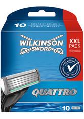 Wilkinson Quattro Quattro Rasierklingen für Herren Rasierer 10 St. Rasiergel 1.0 pieces