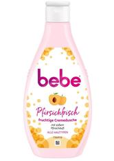 bebe Reinigung Pfirsichfrisch fruchtige Cremedusche Duschgel 250.0 ml