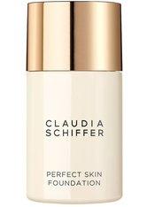 ARTDECO - ARTDECO Claudia Schiffer Perfect Skin Flüssige Foundation  Frappé - FOUNDATION
