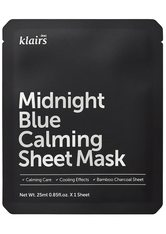 Dear Klairs Gesichtspflege Dear Klairs Midnight Blue Calming Sheet Mask 10er-Set Maske 1.0 pieces