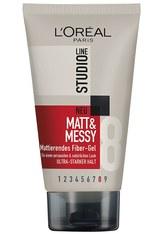 L´Oréal Paris Studioline Matt & Messy Mattierendes Fiber-Gel Haargel 150.0 ml