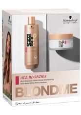 Schwarzkopf Professional All Blondes RICH BlondMe Duo-Set Haarpflege 1.0 pieces