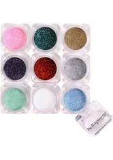 bellápierre Shimmer Powder 9 - Stack Glamourous Glitter Lidschatten Palette  no_color