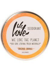 WE LOVE THE PLANET - We Love The Planet Natürliche Deo Creme - Original Orange 48 Gramm - DEODORANTS
