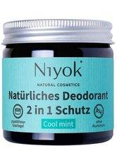 Niyok Produkte 2in1 Deodorant - Cool Mint 40ml Deodorant 40.0 ml