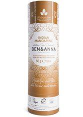 Ben & Anna Produkte Indian Mandarine - Deo papertube 60g Deodorant 60.0 g