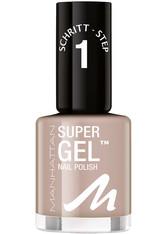 MANHATTAN - Manhattan Make-up Nägel Super Gel Nail Polish Nr. 175 Time for Taupe 12 ml - NAGELLACK
