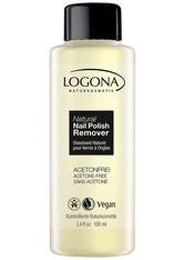 LOGONA - Logona Natural Nail Polish Remover 100 ml - Nagellackentferner - NAGELLACKENTFERNER