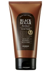 SKINFOOD Gesichtsreinigung Black Sugar Perfect Scrub Foam Gesichtspeeling 180.0 ml