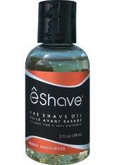 ê Shave Herrenpflege Rasurpflege Pre Shave Oil Orange Sandelholz 60 ml