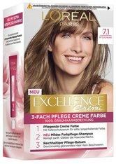 L'Oréal Paris Excellence Crème 7.1 Mittelaschblond Coloration 1 Stk. Haarfarbe
