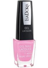 ISADORA - Isadora Gel Nail Lacquer Nr. 222 - Pink Bomb Nagellack 6.0 ml - Nagellack