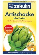 Zirkulin Produkte Zirkulin Artischocke Plus Enzian Tabletten Nahrungsergänzungsmittel 100.0 pieces