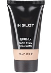 INGLOT Beautifier Tinted Cream Flüssige Foundation  30 ml Nr. 102