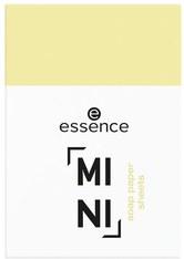 essence MINI Soap Paper Sheets Reinigungspads 20 Stk