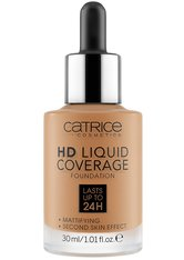 CATRICE - Catrice - Foundation - online exclusives - HD Liquid Coverage Foundation 060 - FOUNDATION