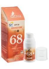 Sativa Produkte No. 68 - Mineralische Sonnenschutzcreme - Rose Beige 30ml Sonnencreme 30.0 ml