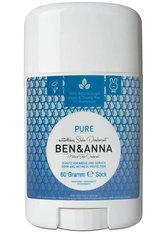 Ben & Anna Produkte Pure - Deo Stick 60g Deodorant 60.0 g