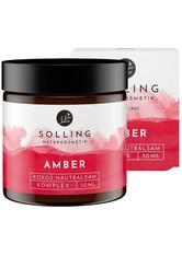 YÚ NATURKOSMETIK - Solling Naturkosmetik Produkte Hautbalsam - Amber-Kokos 50ml Körperbutter 50.0 ml - KÖRPERCREME & ÖLE