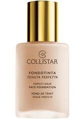 Collistar Face Perfect Wear SPF 10 Flüssige Foundation  30 ml Nr. 3 - Natural