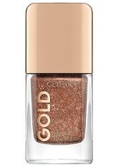 CATRICE - Catrice Nagellack Catrice Nagellack Gold Effect Nail Polish Nagellack 10.5 ml - Nagellack
