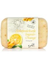 Saling Produkte Schafmilchseife Ingwer-Orange 100g  100.0 g