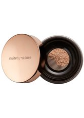 NUDE BY NATURE - Nude by Nature Radiant Loose Powder Foundation 10g W4 Soft Sand (Light, Warm) - GESICHTSPUDER